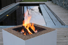 Load image into Gallery viewer, AK47 Design Dado White Wood-Burning Fire Pit