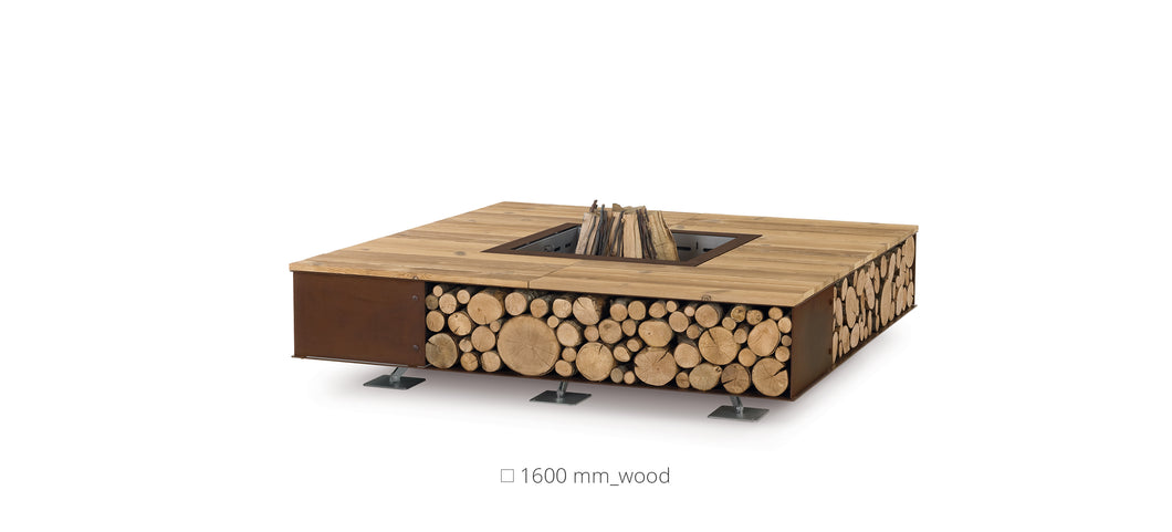 AK47 Design Toast Wood Medium Wood-Burning Fire Pit - The Outdoor Fireplace Store