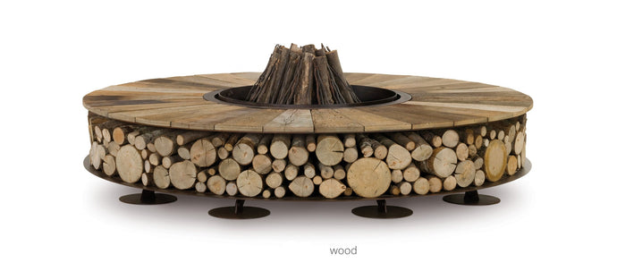 AK47 Design Zero Wood Large Wood-Burning Fire Pit