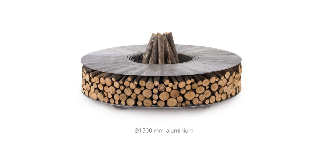 AK47 Design Zero Aluminium Small Wood-Burning Fire Pit