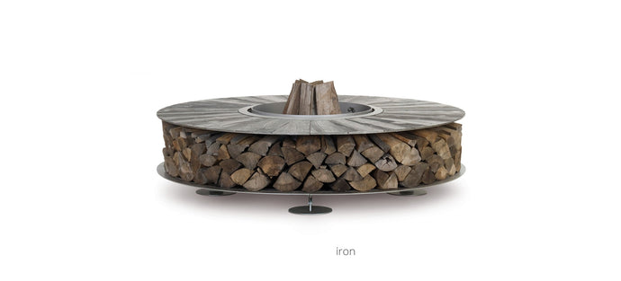 AK47 Design Zero Iron Medium Wood-Burning Fire Pit