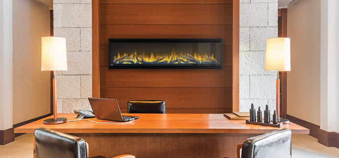 Napoleon Alluravision™ 60 Deep Depth Electric Fireplace NEFL60CHD - The Outdoor Fireplace Store