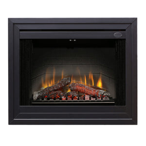 "Dimplex 33"" Direct-wire Firebox with Brick Herringbone BF33DXP"