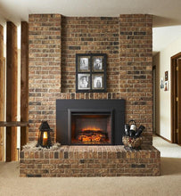 "Load image into Gallery viewer, Outdoor GreatRoom GI-29 Gallery Electric Fireplace Insert 42"" Surround - The Outdoor Fireplace Store"