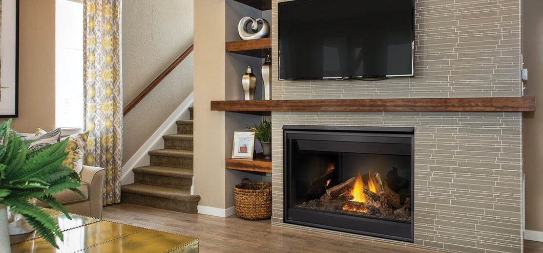 Napoleon Ascent™ 46 Direct Vent Gas Fireplace with Millivolt Ignition - The Outdoor Fireplace Store