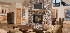Napoleon Ascent Multi-View Direct Vent Gas Fireplace See-Thru BHD4ST - The Outdoor Fireplace Store