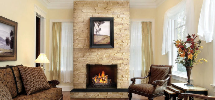 Napoleon Fiberglow™ 30 Gas Log Set GL30NE - The Outdoor Fireplace Store