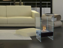 Load image into Gallery viewer, Anywhere Fireplace Hudson Indoor/Outdoor Floor Standing - Black - The Outdoor Fireplace Store