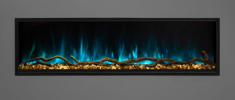 Modern Flames Landscape Pro Slim Built In Electric Fireplace - The Outdoor Fireplace Store