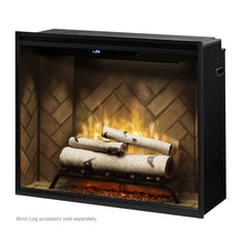 "Load image into Gallery viewer, Dimplex 36"" Revillusion Potrait Direct-Wire Electric Firebox RBF36P"