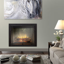 "Load image into Gallery viewer, Dimplex 42"" Revillusion Weathered Concrete Electric Firebox RBF42WC"