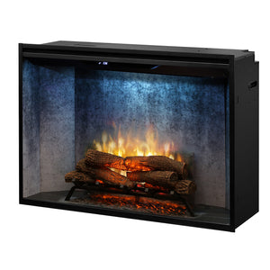 "Dimplex 42"" Revillusion Weathered Concrete Electric Firebox RBF42WC"