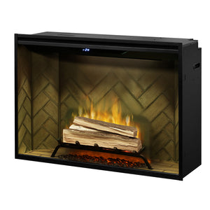 "Dimplex 42"" Revillusion Direct-Wire Electric Firebox RBF42"