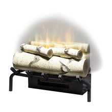 "Load image into Gallery viewer, Dimplex 20"" Revillusion Masonry Fireplace Electric Log Set RLG20"