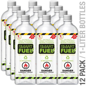Anywhere Fireplace SmartFuel Liquid - Bio-Ethanol Fuel - The Outdoor Fireplace Store