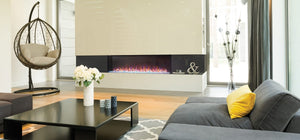 Napoleon Trivista™ 60 Built-in Electric Fireplace Three-Sided - The Outdoor Fireplace Store