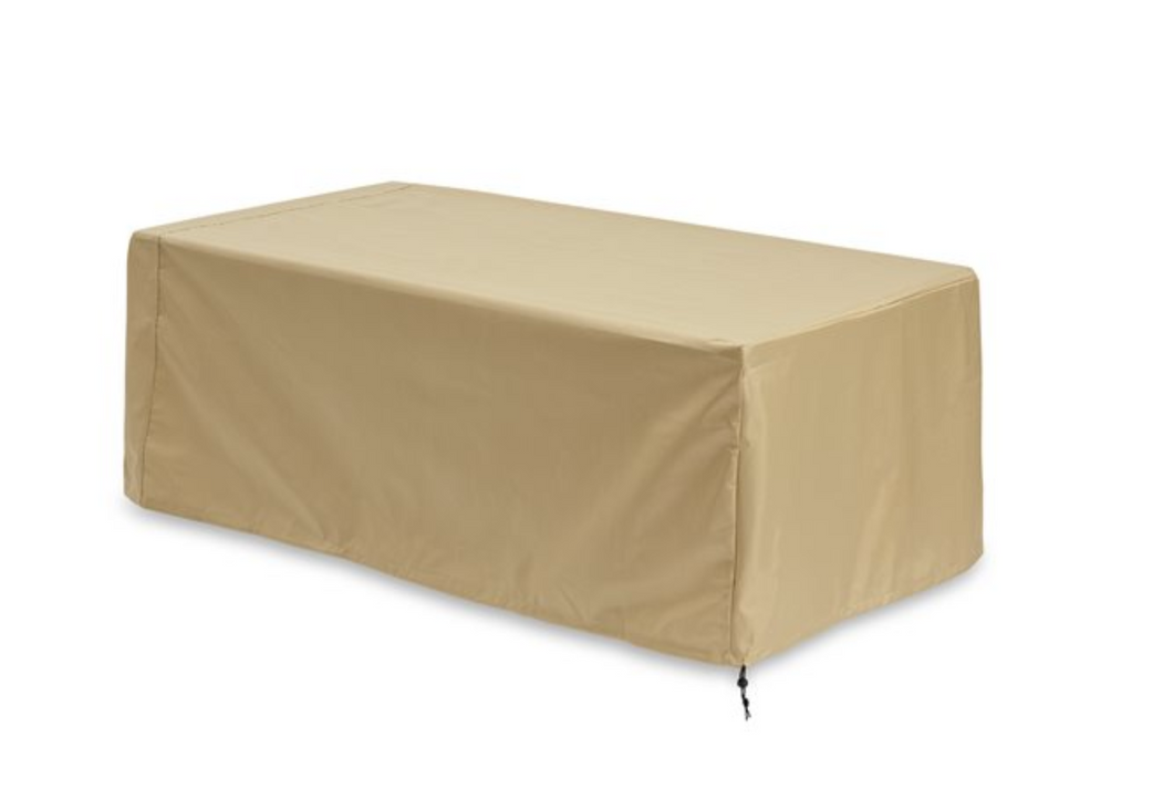 Outdoor GreatRoom Uptown Tan Polyester Linear Cover - The Outdoor Fireplace Store