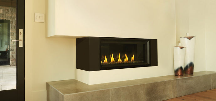 Napoleon Vector™ 74 Direct Vent Gas Fireplace LV74N - The Outdoor Fireplace Store