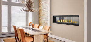 Napoleon Vector™ 62 See Through Direct Vent Gas Fireplace LV62N2 - The Outdoor Fireplace Store