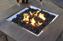 Load image into Gallery viewer, Outdoor GreatRoom Fire Media Black Natural Lava Rock LAVA-BLK - The Outdoor Fireplace Store
