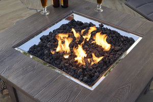 Outdoor GreatRoom Fire Media Black Natural Lava Rock LAVA-BLK - The Outdoor Fireplace Store