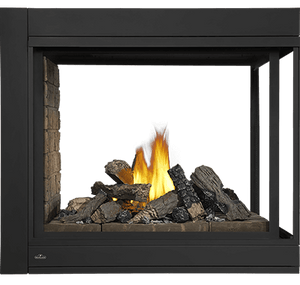 Napoleon Ascent Multi-View Direct Vent Gas Fireplace 3-Sided BHD4P - The Outdoor Fireplace Store