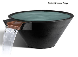 Slick Rock Cascade Conical Water Bowl - The Outdoor Fireplace Store