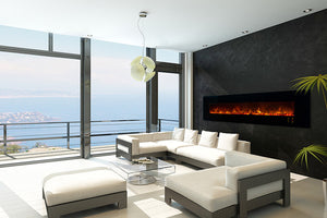 "Modern Flames 100"" Ambiance CLX2 Electric Fireplace AL100CLX2G - The Outdoor Fireplace Store"