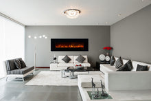 "Load image into Gallery viewer, Modern Flames 80"" Ambiance CLX2 Electric Fireplace AL80CLX2-G - The Outdoor Fireplace Store"