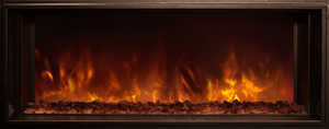 "Modern Flames 120"" Landscape Fullview 2 Built In Electric Fireplace - The Outdoor Fireplace Store"