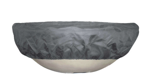 "Outdoor Plus 31"" Round Bowl Canvas Cover - The Outdoor Fireplace Store"