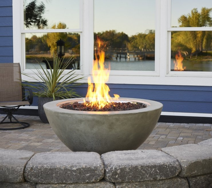 Outdoor GreatRoom Round Cove Fire Bowl 42
