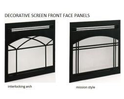 Superior Decorative Front Face Panel Interlocking Arch Style FFEP-36IA - The Outdoor Fireplace Store