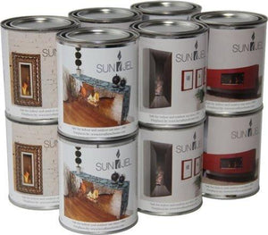 Anywhere Fireplace SunJel Gel Fuel Cans - 12 Pack - The Outdoor Fireplace Store