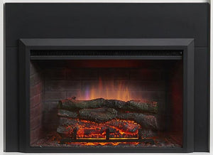 "Outdoor GreatRoom Zero-Clearance Electric Fireplace Insert in 36""/4""H - The Outdoor Fireplace Store"
