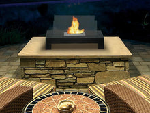 Load image into Gallery viewer, Anywhere Fireplace Gramercy Indoor/Outdoor Floor Standing - Black - The Outdoor Fireplace Store
