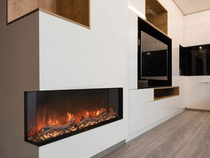 Modern Flames Landscape Pro Multi-Sided Built In Electric Fireplace - The Outdoor Fireplace Store