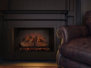 Modern Flames Sunset Charred Oak Electric Log Set No Heat & WIFI Ready - The Outdoor Fireplace Store
