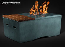 "Load image into Gallery viewer, Slick Rock Oasis 48"" Rectangle Fire Table - The Outdoor Fireplace Store"