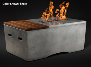 "Slick Rock Oasis 48"" Rectangle Fire Table - The Outdoor Fireplace Store"