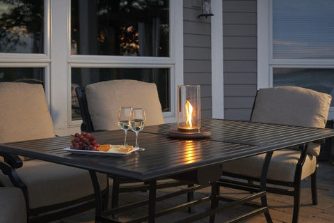 outdoor fire table. Outdoor Fire Pit - GreatRoom Intrigue Spinning Venturi Flame Table Top