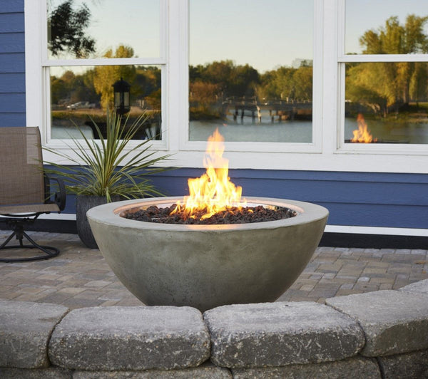 Outdoor Greatroom Round Cove Fire Bowl 42 Quot Supercast