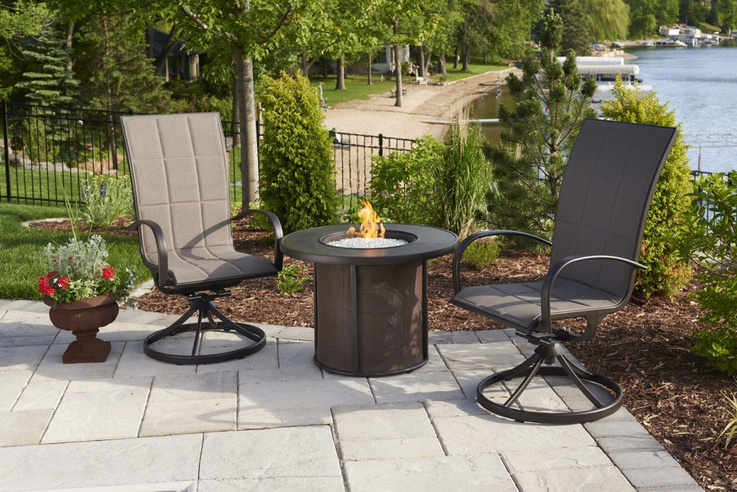 Outdoor GreatRoom Stonefire Fire Table w/Stonefire Composite Top 32