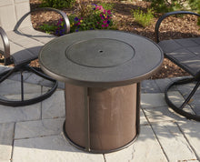 "Load image into Gallery viewer, Outdoor GreatRoom Stonefire Fire Table w/Stonefire Composite Top 32"" - The Outdoor Fireplace Store"