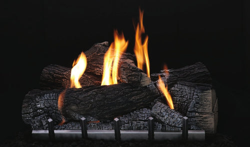 Empire Carol Rose Collection Outdoor Wildwood Refractory Log Set 30