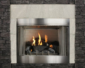 "Empire Carol Rose Collection Outdoor Wildwood Refractory Log Set 30"" - The Outdoor Fireplace Store"
