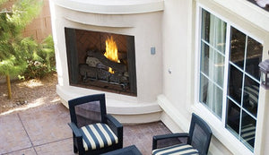 "Superior 42"" Paneled Outdoor Vent-Free Gas Fireplace VRE4542 - The Outdoor Fireplace Store"