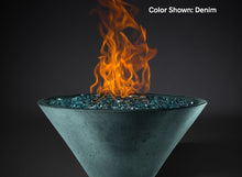 Load image into Gallery viewer, Slick Rock Ridgeline Conical Fire Bowl - Electronic Ignition - The Outdoor Fireplace Store