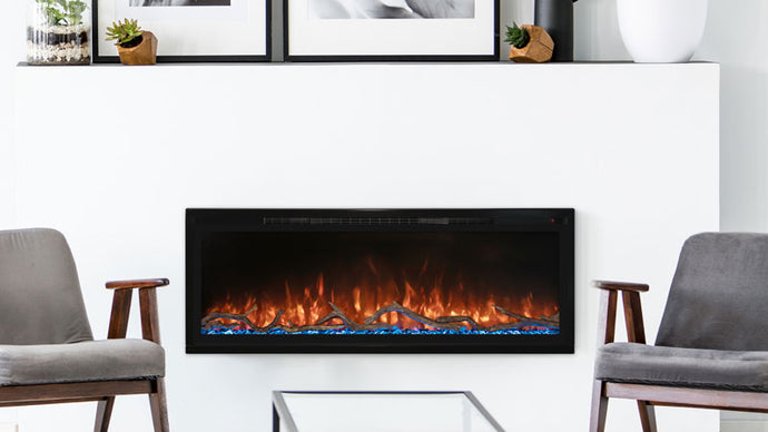 Modern Flames Spectrum Slimline Wall Mount/Recessed - The Outdoor Fireplace Store