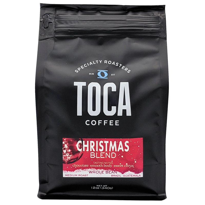 Christmas Blend - chocolate smooth body citrus - TOCA Coffee